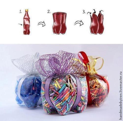 Сувениры из пластиковых бутылок своими руками