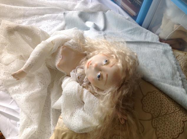 авторская кукла, процесс