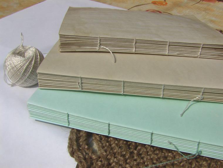 блокнот в подарок, состаренный блокнот