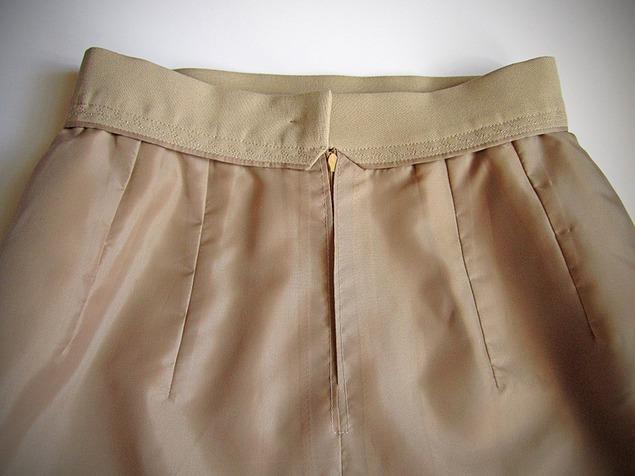 Технология пошива юбки подкладке