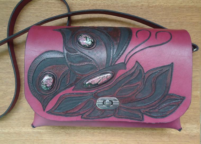 авторская сумка, подарок, сумка ручной работы, сумка через плечо, сумка театральная