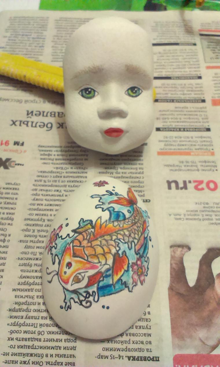 тедди-долл, кукла своими руками, лягушка, авторская игрушка, роспись