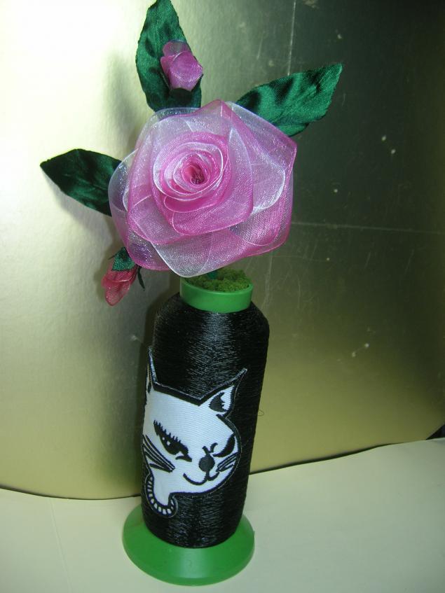 Искусственные цветы своими руками из подручных материалов