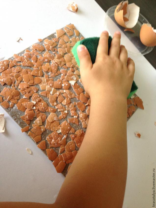 Делаем фреску вместе с детьми, фото № 5
