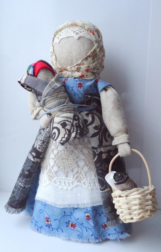 народная кукла, мастер-класс
