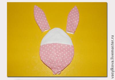 Текстильный пасхальный заяц   мастер-класс