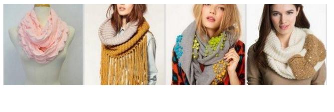 с чем носить снуд, шарф-снуд