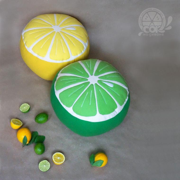 подушка-фрукт