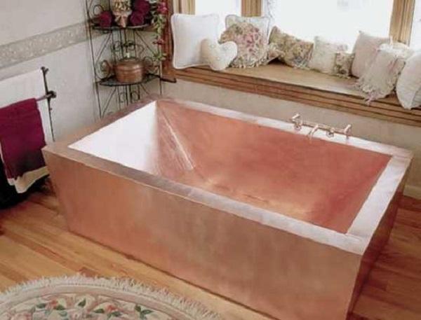ванна медная