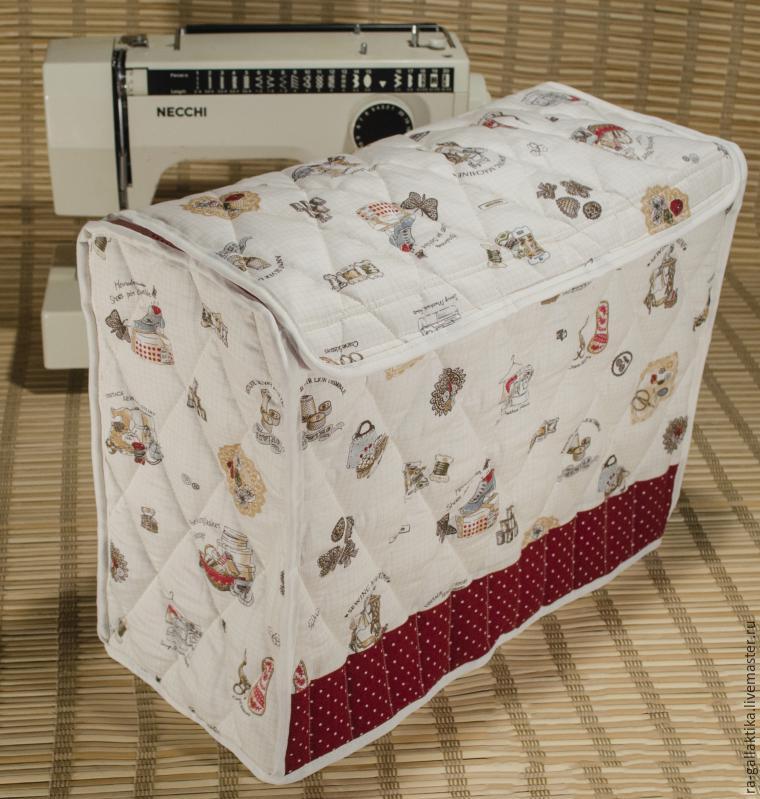 9b0f731b33c4 Шьем чехол для швейной машинки – мастер-класс для начинающих и  профессионалов
