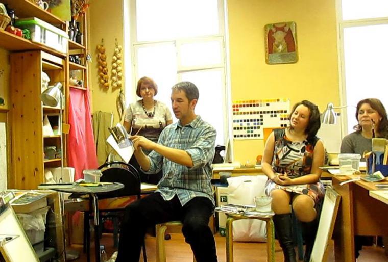 акварель, уроки живописи