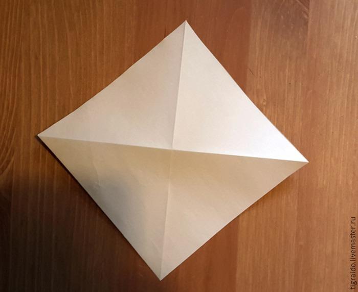 Оригами: пасхальная курочка, фото № 2
