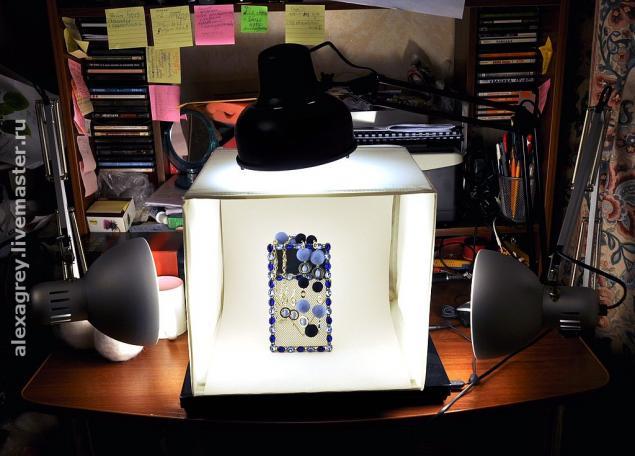 Световой кубик для предметной фотосъемки своими руками.