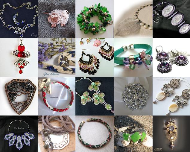 бижутерия, галерея бижутерии, украшения, украшения ручной работы, бижутерия своими руками