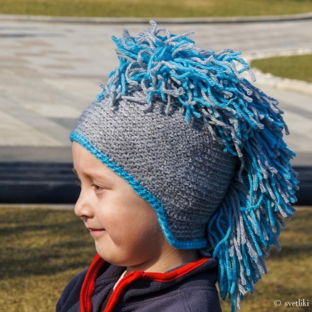шапка-ирокез