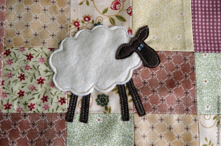 Шьём наволочку с овечкой!, фото № 20