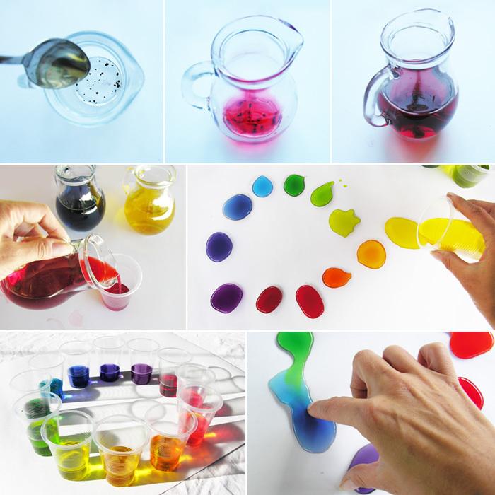 игры с детьми, цвет
