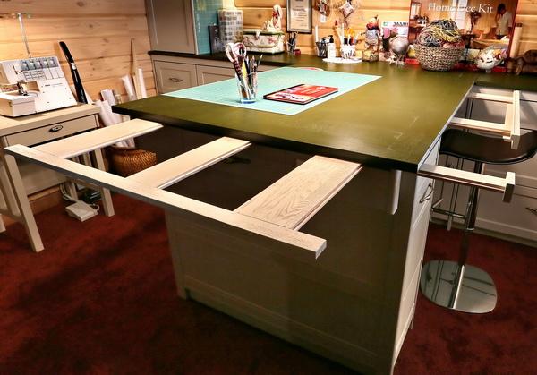 мастерская, стол-трансформер