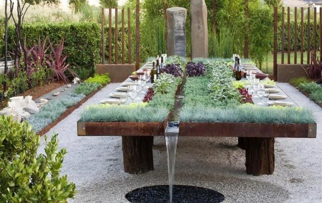 Ландшафтный стол своими руками