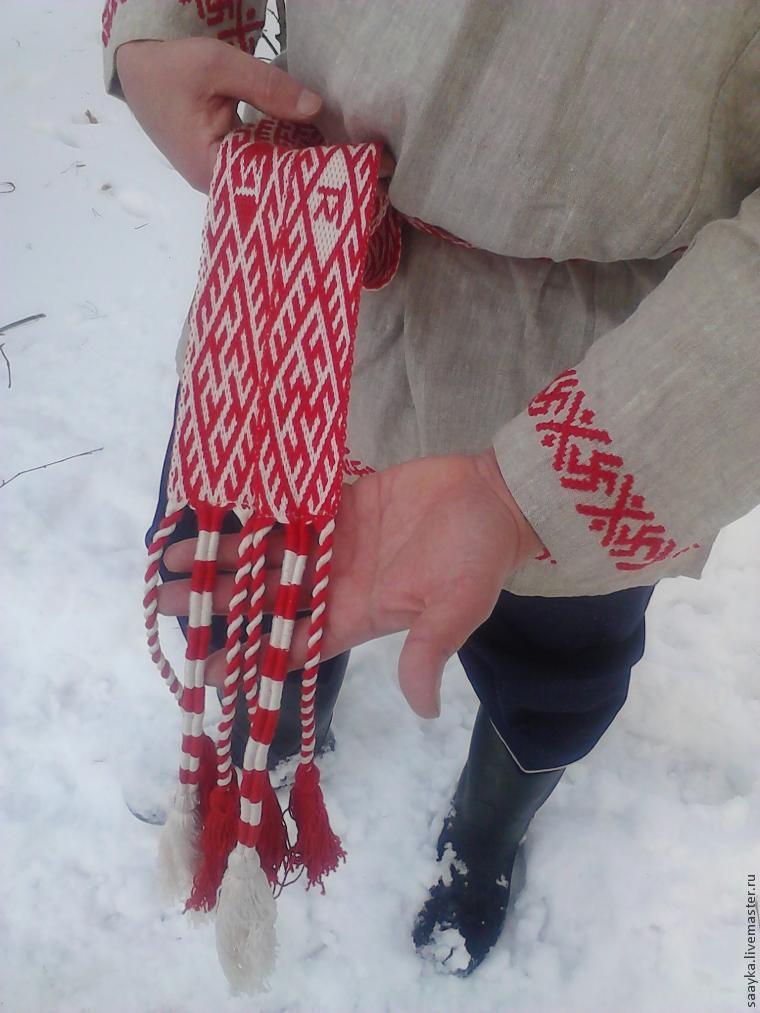 обережное плетение