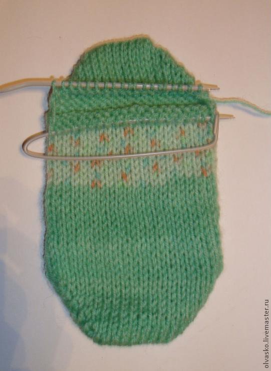 вяжем носки на двух спицах без шва мастер класс для начинающих и