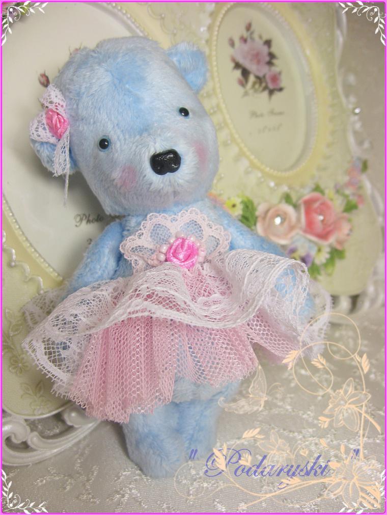 подарок на 8 марта, голубой, аукцион с нуля, малышка