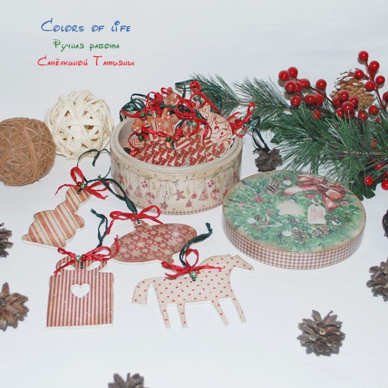 сувениры и подарки, красный, пряничные игрушки