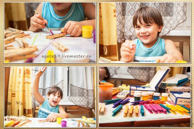 подарок своими руками, детское творчество