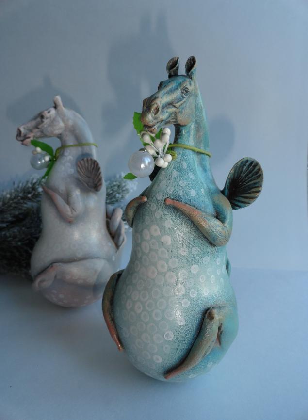 год лошади, подарок на новый год, серый, кристина васса, игрушка