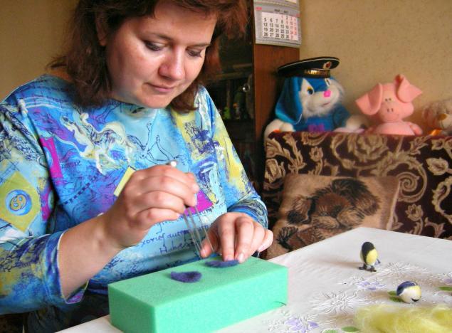 мастер-класс по валянию, игрушки из шерсти, подарок
