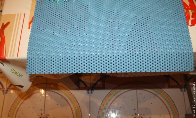 Процесс создания веселого коврика, фото № 3