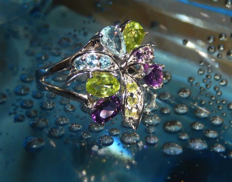 аукцион, аукцион на украшения, кольцо из серебра, перидот, серебряное кольцо, размер, эксклюзивное украшение