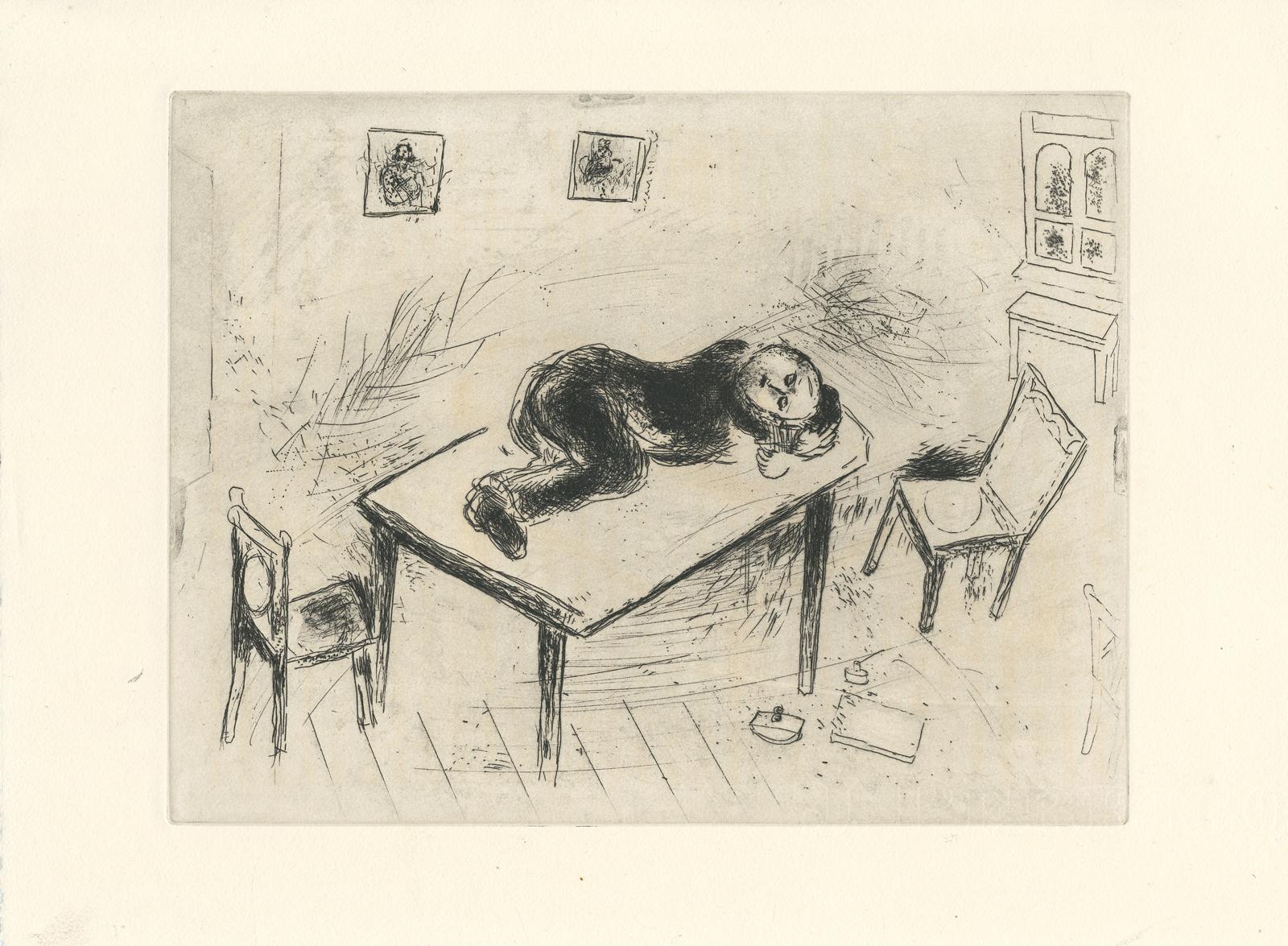 Черно-белая графика знаменитых художников, фото № 40
