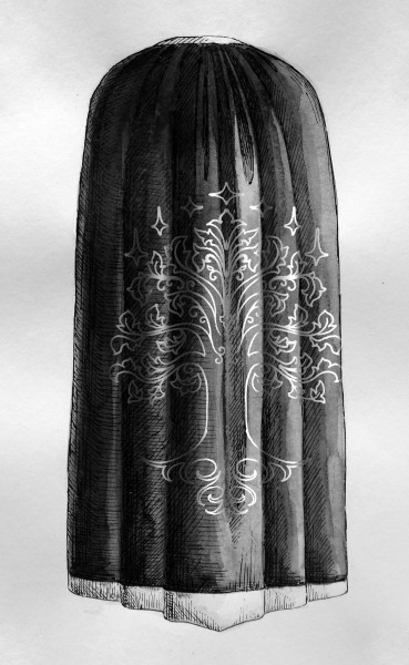 гондор, машинная вышивка