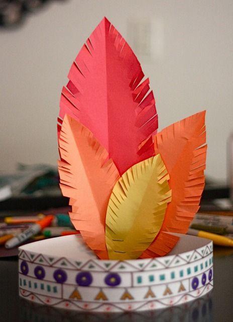 Индейские украшения для детей своими руками
