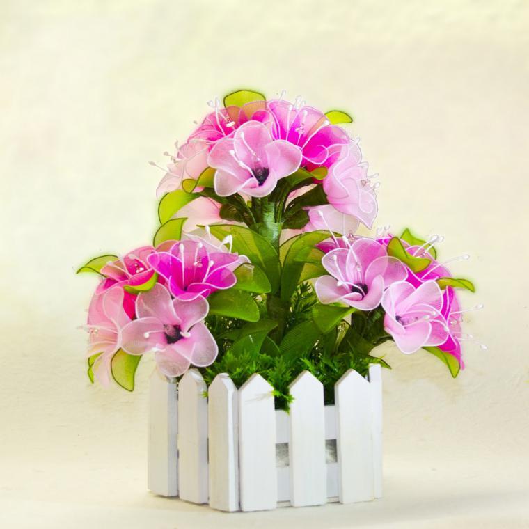 Покупка цветов своими руками