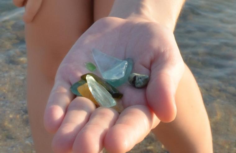 морские стёклышки