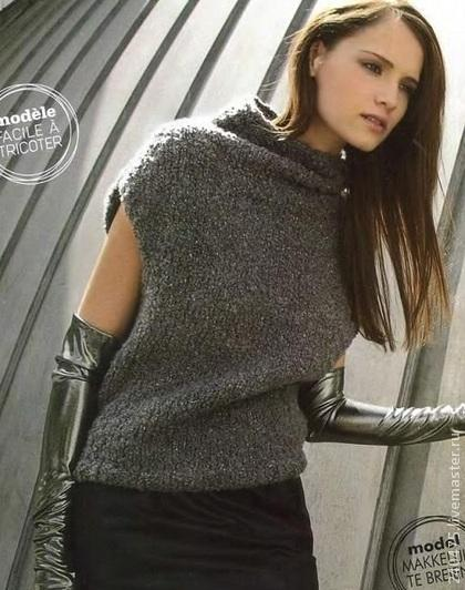 кардиган пуловер вязание описание