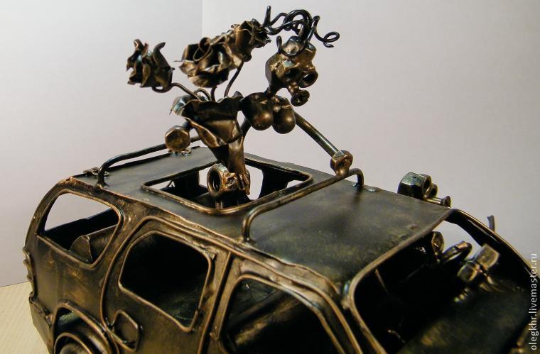 Делаем объемную модель «Шевроле Тахо» с влюбленной парой, фото № 33