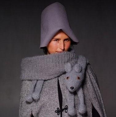 针织:狐狸的灵感 - maomao - 我随心动