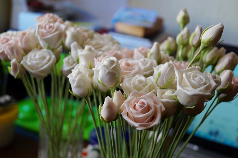 Букетики для декорации свадебного стола....., фото № 8