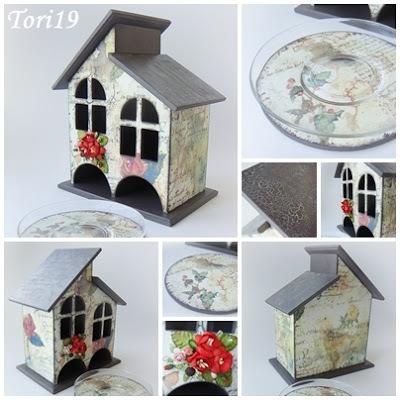 Чайный домик декор своими руками 438