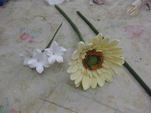 Японская глина цветы мастер класс для начинающих