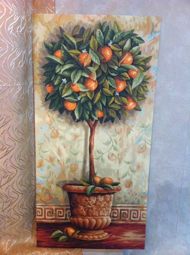"""Апельсиновое дерево""""."""