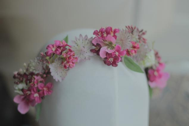 осень, цветочный, цветы, украшение для волос