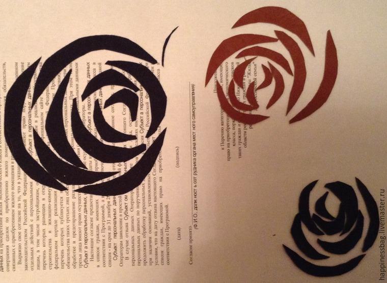 розы из кожи