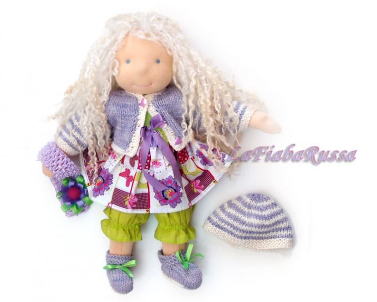 текстильная кукла, кукла ручной работы, волосы для кукол