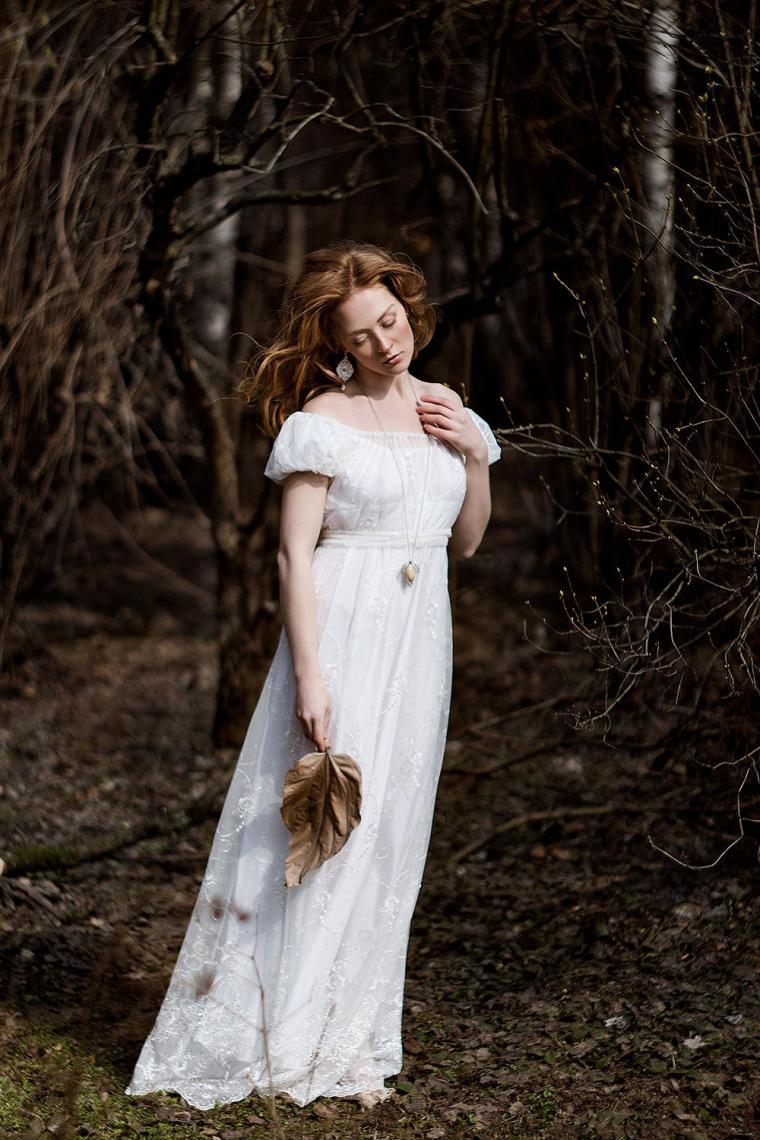 модель, серьги невесты, фотосъемка
