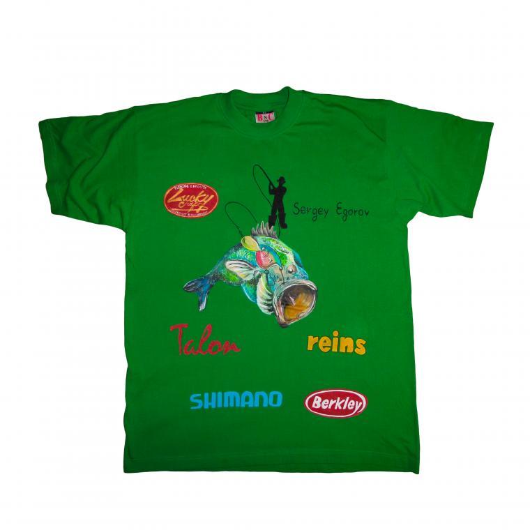 футболка, футболка рыбалка, подарок мужчине, футболка на заказ