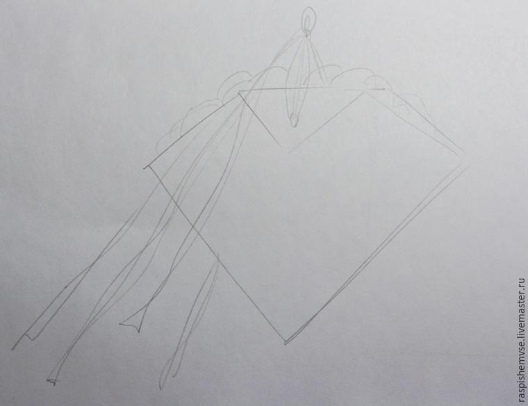 Делаем свадебные кулечки для лепестков, фото № 1